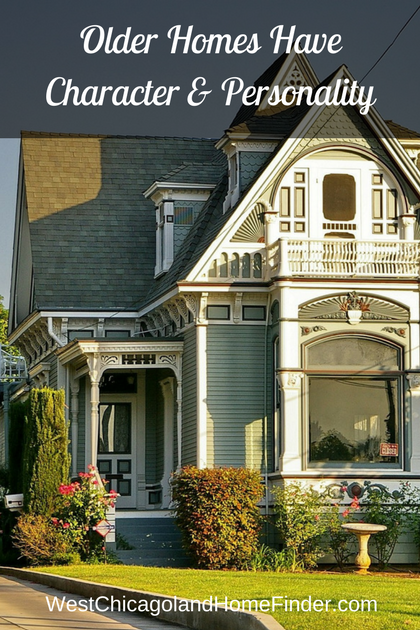 Older Homes have Character & Charm